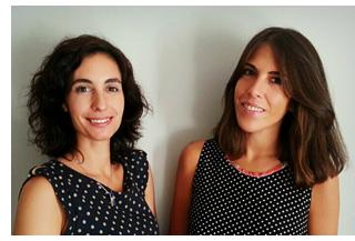 Mónica Pinedo y Delia María Rodríguez