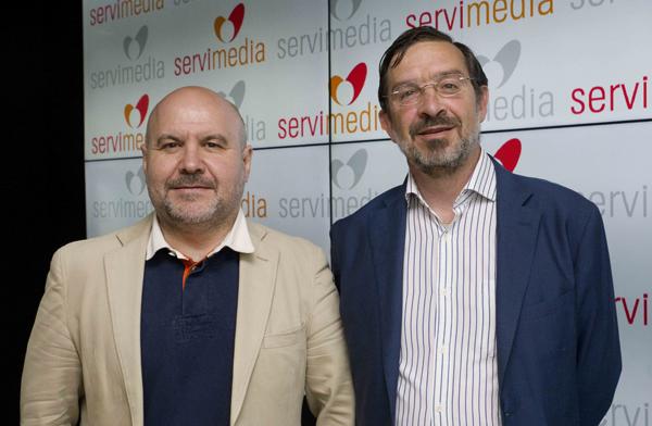 Luis Cayo Pérez Bueno y Antonio Luis Martínez-Pujalte