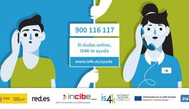 INCIBE - telefono para menores