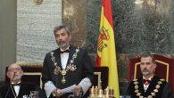 El presidente del Tribunal Supremo, Carlos Lesmes Serrano, durante la Apertura del Año Judicial (Casa Real)
