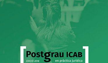Postgrado en Práctica Jurídica del ICAB