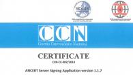 firma electrónica avanzada de los notarios