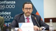 El presidente de la Mutualidad, Enrique Sanz Fernandez-Lomana