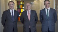 Luis de Carlos, José María Segovia y Salvador Sánchez-Terán