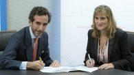 Juan José Sánchez Puig, director general de ISDE y María Jesús Magro, directora general de PONS Escuela de Negocios
