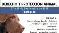 I Congreso de Derecho y Protección Animal de Zaragoza