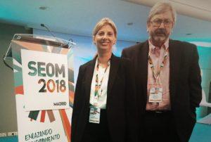 Francesc José María participó en el Congreso de la Sociedad Española de Oncología Médica