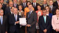 El Rey recibe en audiencia al Pleno del Consejo General de Procuradores de España