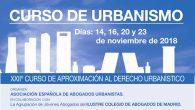 Se convoca la XXIIº Edición del Curso de Urbanismo de la Asociación Española de Abogados Urbanistas