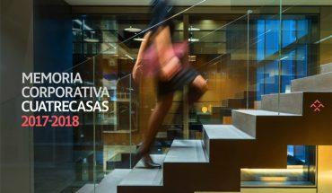 Cuatrecasas publica su memoria corporativa 2017-2018