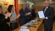 Juan Carlos López Caballero recoge el reconocimiento al Ministerio Fiscal