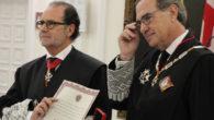 Francisco Vieira recibe la medalla de Colegiado de Honor del ICAM