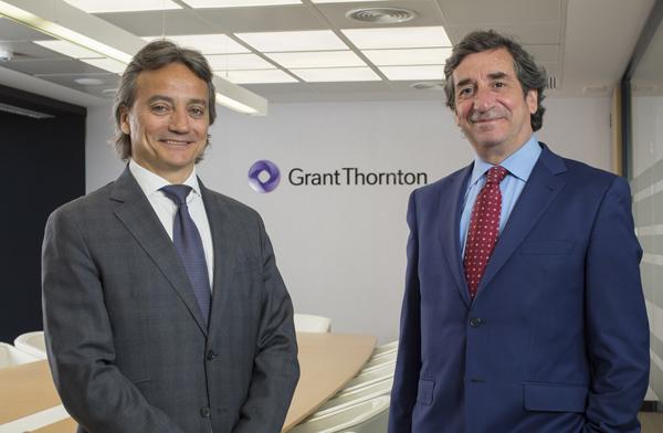Los Socios de Grant Thornton Álvaro Rodríguez y Joan Saula
