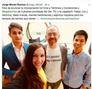 tweet de Jorge Morell