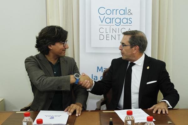 Colegio de Abogados de Granada y la clínica dental Corral&Vargas