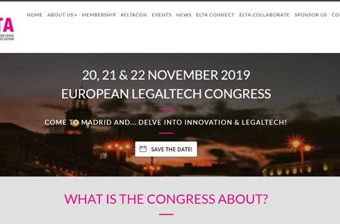 Congreso Europeo de LegalTech