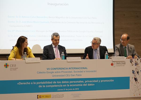 Cátedra Google sobre Privacidad, Sociedad e Innovación de la Universidad CEU San Pablo
