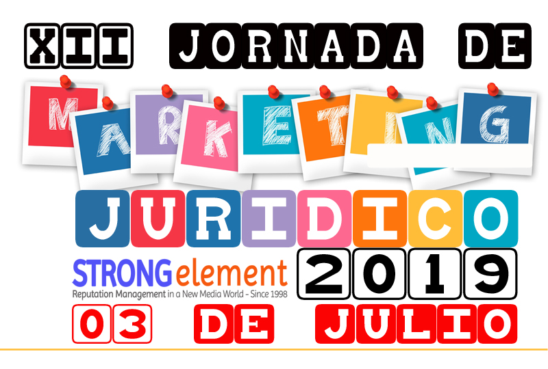 XII Jornada de Marketing Jurídico de STRONG element / Lawyerpress
