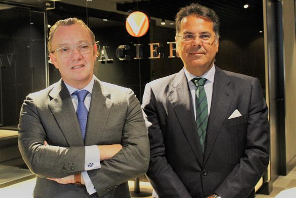 Francisco Vaciero y Jaime Beltrán