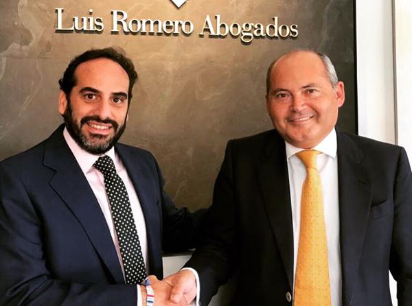Carlos Lacaci y Luis Romero