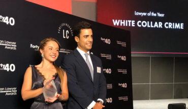 premios Iberian Lawyer 40 under 40