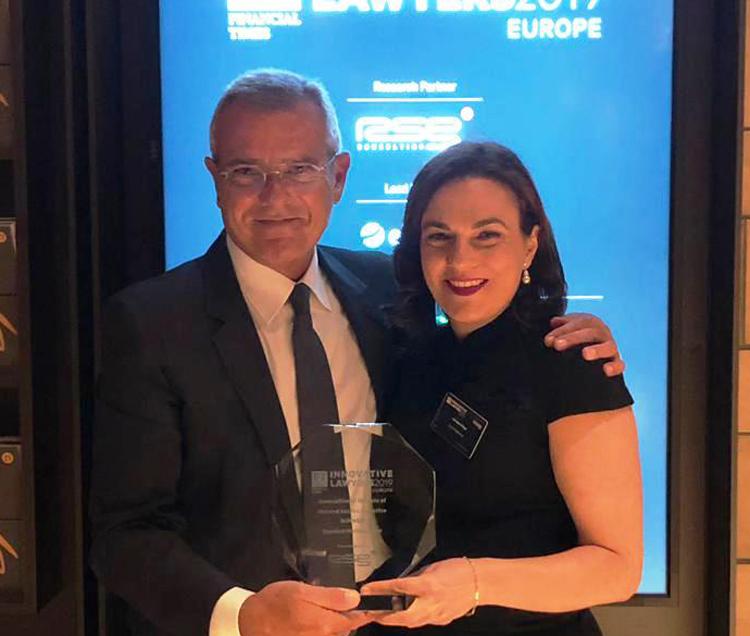 Abogacía Española recibe el Premio Financial Times de Innovación