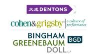 Dentons US, Bingham Greenebaum y Cohen & Grigsby