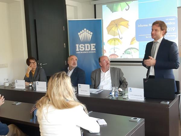 Guillermo Díaz del Rio del ISDE introduce la jornada
