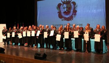 Colegio de Abogados de Málaga rinde homenaje a los letrados que cumplen 25 y 50 años