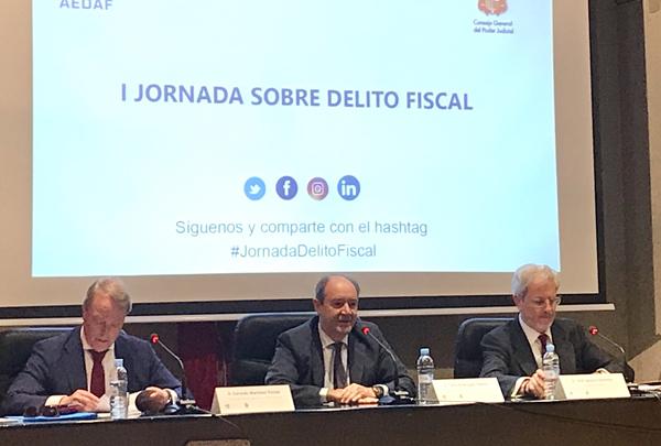 I JORNADA AEDAF SOBRE EL DELITO FISCAL