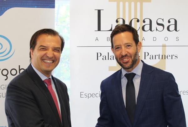 Lacasa Abogados, Palacios & Partners y Cibergob