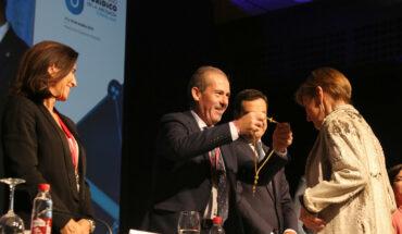 Victoria Ortega recibe la Medalla de Honor del Colegio de Abogados de Málaga