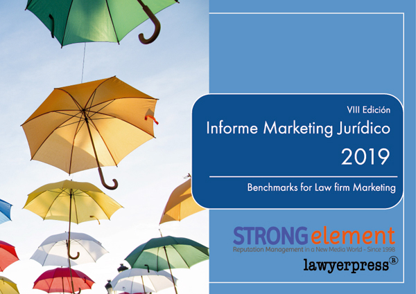 VIII Informe de Marketing Jurídico  de STRONG element