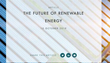 WFW El futuro de las energías renovables