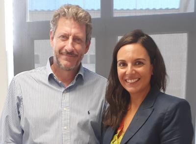 Natalia Fernández Vega y Carlos Adeva