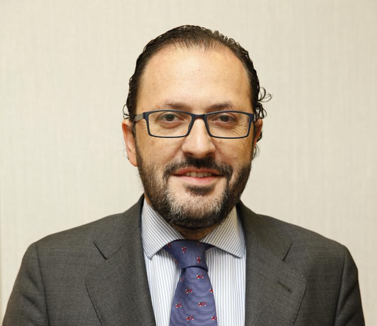 Javier Garicano, decano del Ilustre Colegio de Abogados de Valladolid