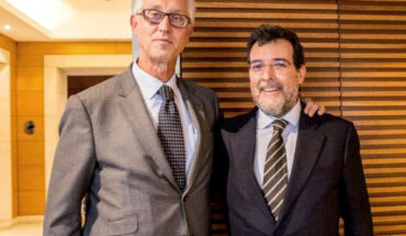 Ricard Nel-lo y Javier Mirallas presidente CCBC