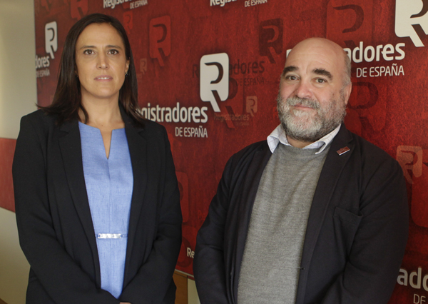 Rocío Perteguer y Carlos Capa