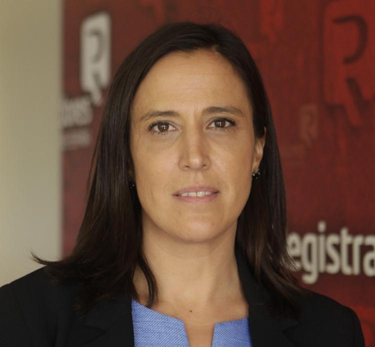Rocío Perteguer, directora del Servicio de Medio Ambiente, Consumidores y Usuarios del Colegio de Registradores