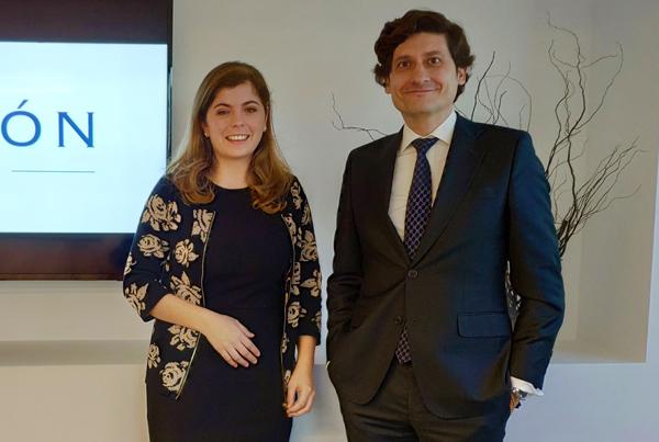 Carlos Guerrero y Yolanda Calparsoro
