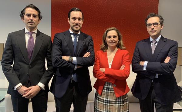 Pablo Fernández Cortijo, Ignacio del Fraile, Irene Fernández Puyol y Pablo Muelas