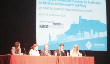 XV Congreso de la Asociación Española de Profesores de Derecho Administrativo