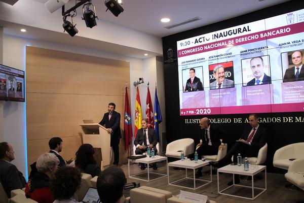 I Congreso Nacional de Derecho Bancario