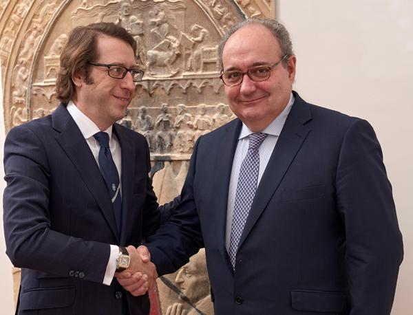 Ignacio Moratilla, socio de Laboral, y a la derecha Francisco J. Bauzá, socio director LEXPAL ABOGADOS