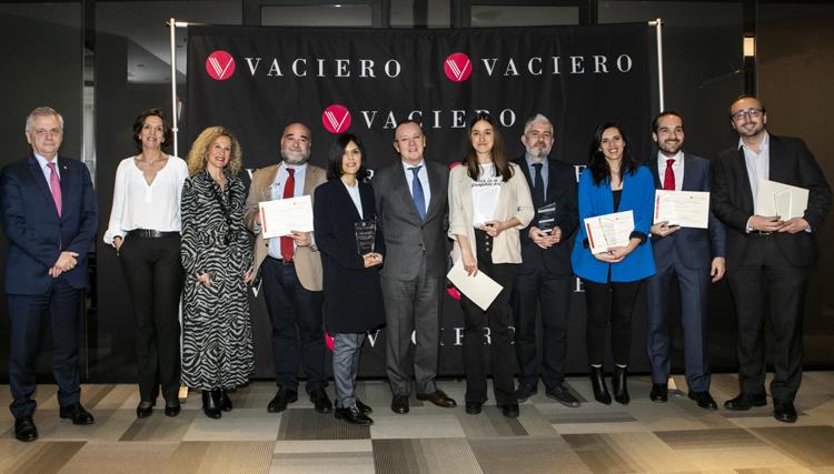 los III Premios VACIERO de Periodismo Jurídico y Financiero