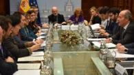 Ministerio y asociaciones de jueces y fiscales