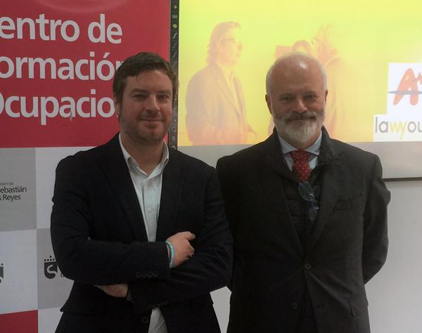 Jorge J. Honrubia Pantoja, gerente de Acenoma e Ignacio Martínez-Fonseca, CEO de Lawyou