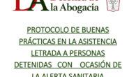 protocolo de buenas prácticas en la asistencia letrada a personas detenidas