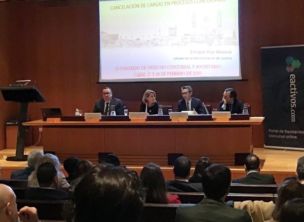 VI Congreso de Derecho concursal y societario