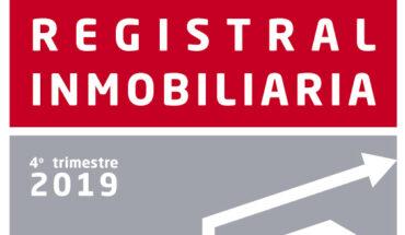 Anuario 2019 de la Estadística Registral Inmobiliaria